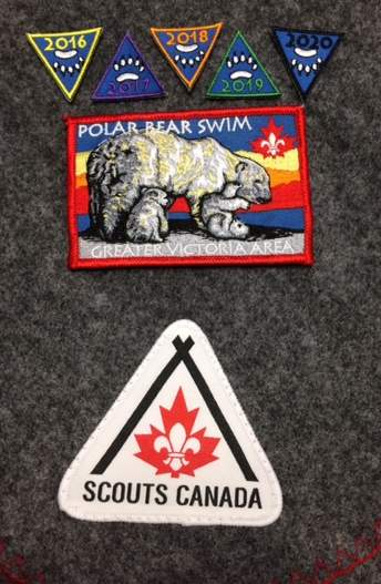 Camp Barnard Polar Bear Swim